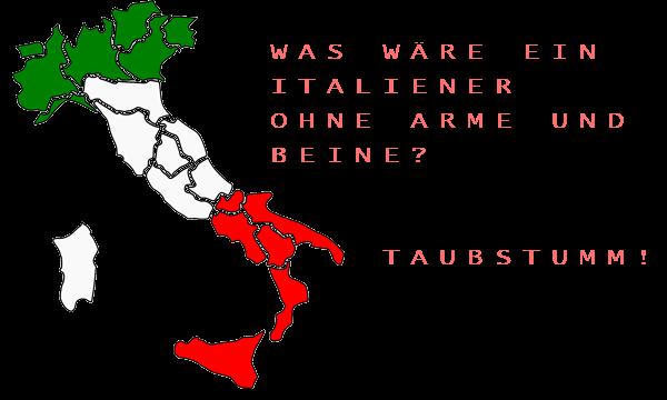 Italiener Witze