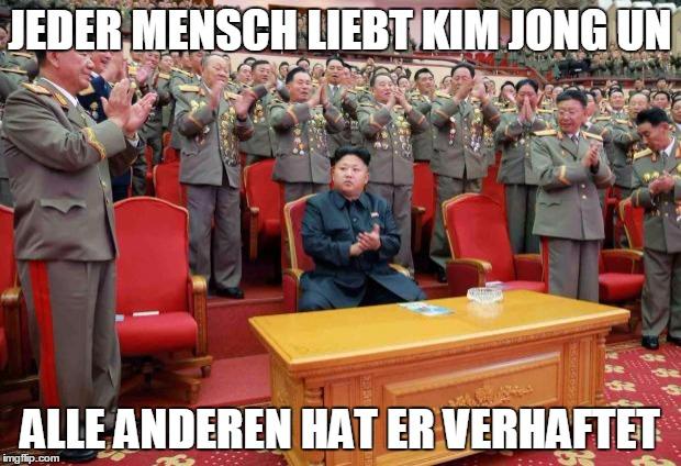 Kim Jong Un Witze