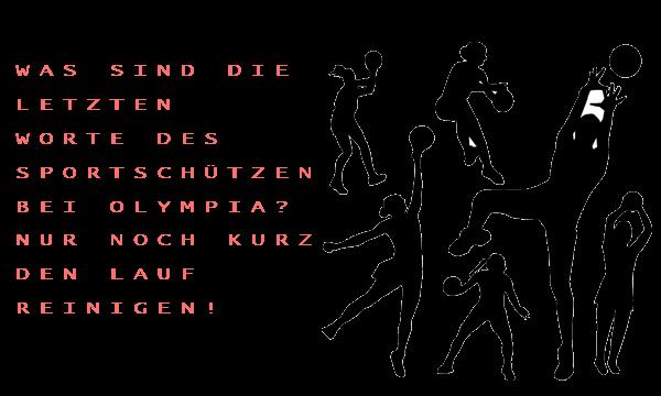 Olympia Witze
