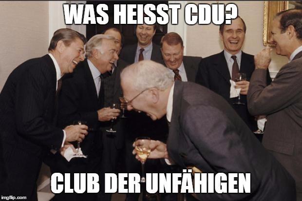 CDU Witze