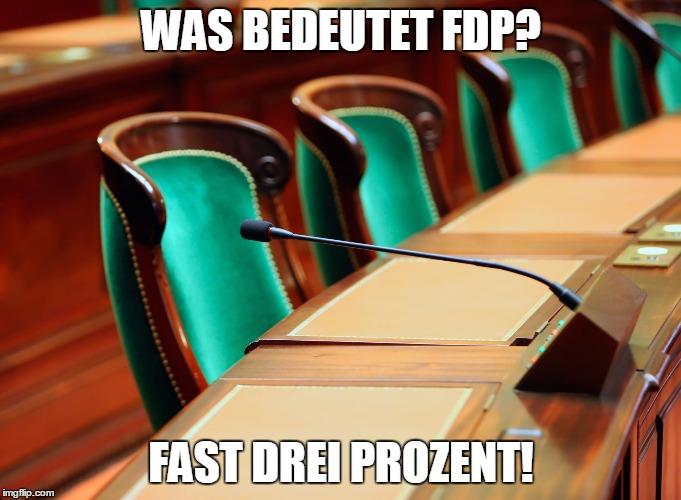 FDP Witze=