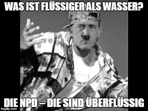 NPD Witze=