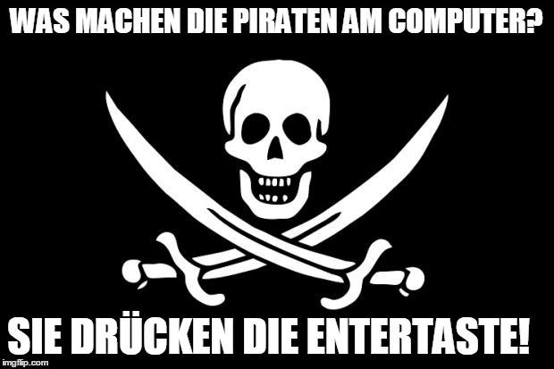 Piratenpartei Witze=
